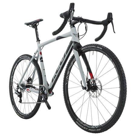 Felt Bicycles Felt F55x Matte Primer Grey (Black & Fluoro Red)