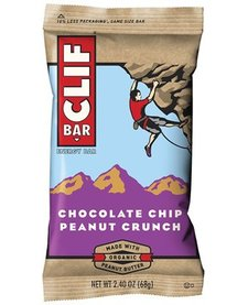 CLIF BAR-CHOCOLATE CHIP PEANUT CRUNCH BOX OF 12