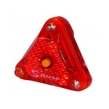 Serfas 3 LED HELMET MOUNT LIGHT
