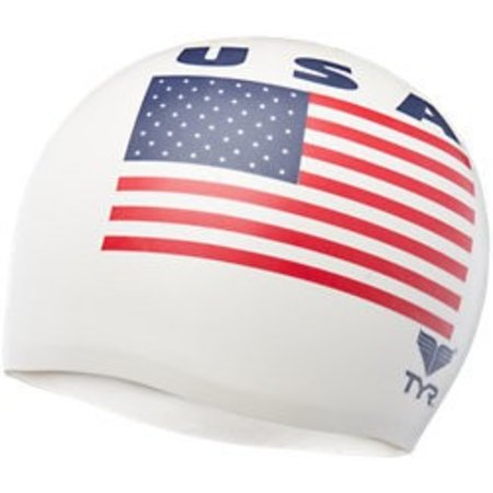 TYR TYR Silicone Cap - Graphic
