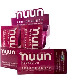 NUUN PERFORMANCE BLUEBERRY STRAWBERRY DRINK MIX BOX OF 12