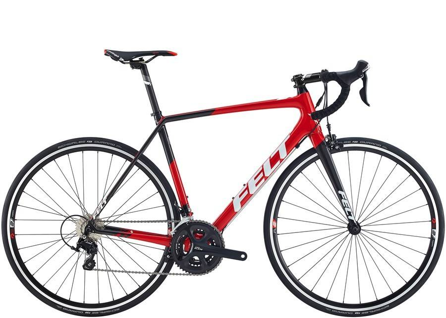 Felt Bicycles FELT FR5 Gloss Red (Carbon, White) 56