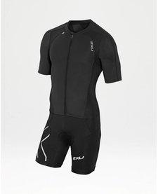 Men's Compression Full-Zip Sleeved Trisuit