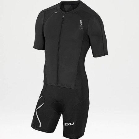 2XU 2XU Men's Compression Full-Zip Sleeved Trisuit