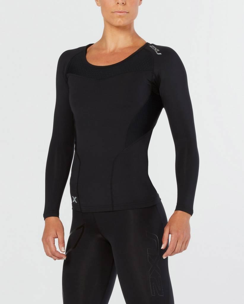 2XU North America Women's Base Compression Long Sleeve Top WA2270a