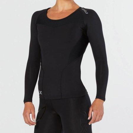 2XU Women's Base Compression Long Sleeve Top WA2270a