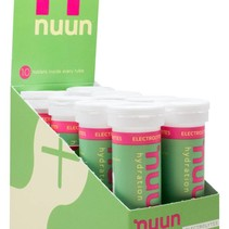 nuun active hydration box of 8 tubes