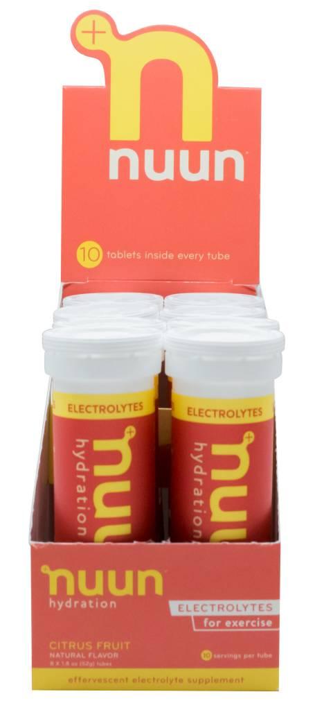 nuun nuun active hydration box of 8 tubes