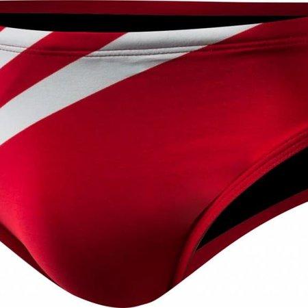 TYR TYR AMER FLAG 2 IN RACER NAVY/RED 38