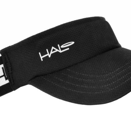 Halo Halo Race Visor: Black, SM/MD