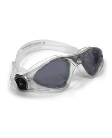 KAYENNE Goggle, smoke lens, translucent w/silver accents