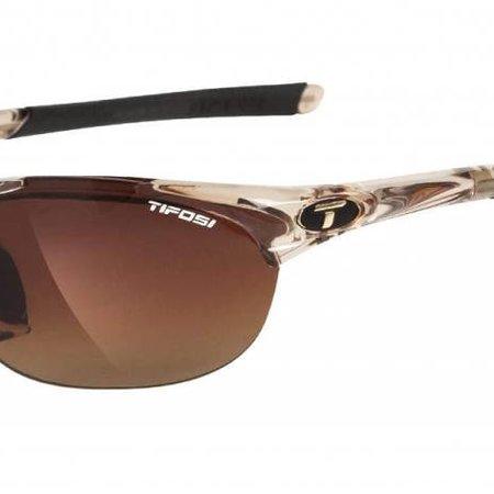 Tifosi Wisp Interchangeable Sunglasses Crystal Brown