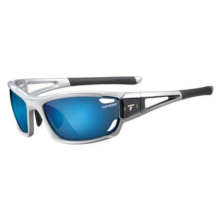 Tifosi Dolomite 2.0, Metallic Silver Interchangeable Sunglasses