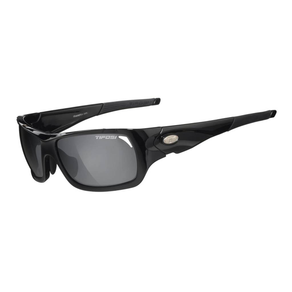 Tifosi Duro, Gloss Black Interchangeable Sunglasses