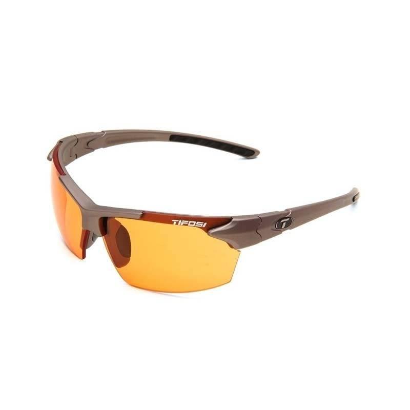 Tifosi Jet, Iron Fototec Sunglasses BC Orange Fototec Lenses