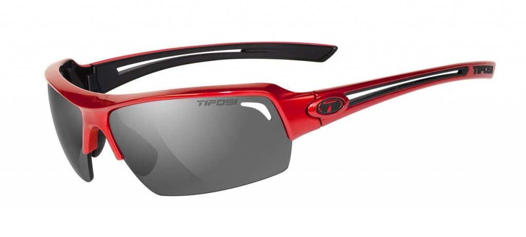 Tifosi Just, Metallic Red Polarized Sunglasses
