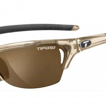 Tifosi Radius, Crystal Brown Polarized Fototec Sunglasses