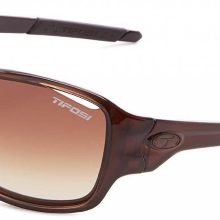 Tifosi Rumor, Crystal Brown Interchangeable Sunglasses Brown Grad/AC Red/Clear Lenses