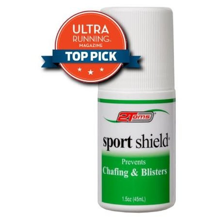2Toms 2TOMS Sport Shield Roll-On Anti-Chafing .5oz. ea (12/cs)
