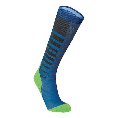 2XU North America Men's Striped Performance Run Compression Socks