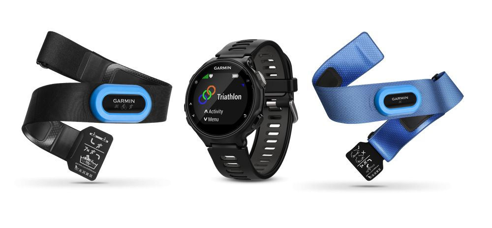 Garmin Forerunner® 735XT, North America, Black/Gray Tri-Bundle