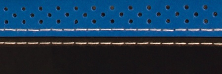 Serfas SERFAS BAR TAPE BLK/BLUE STITCH/PERF