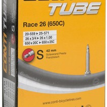 Continental 650c 20-25 42mm PV Tube