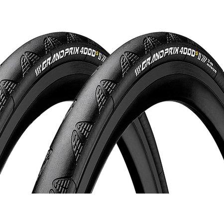 Continental Continental Grand Prix 4000 S II 700 X 25 Black-BW + Black Chili
