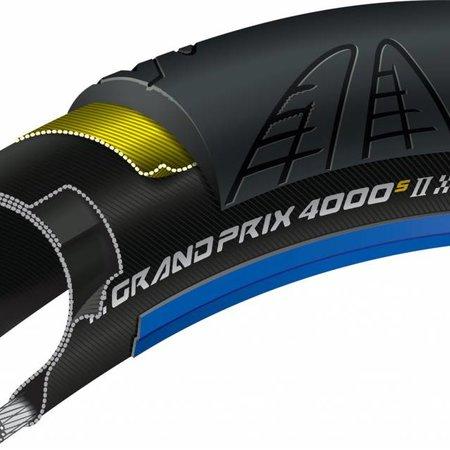 Continental GRAND PRIX 4000 S II - 700 x 23 Blue-BW + Black Chili