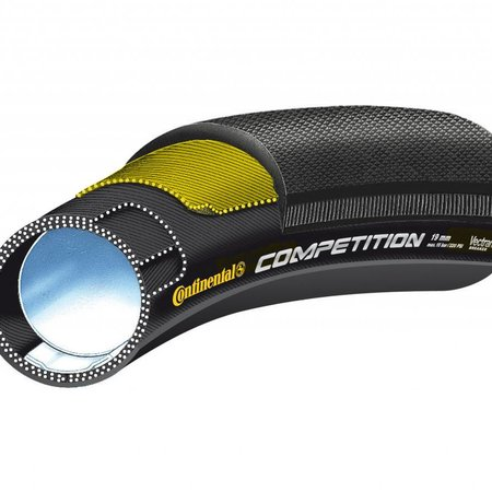 Continental Competition Tubular 28 X 22 Black-BW + Black Chili