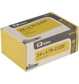"Q-Tubes Q-Tubes Value Series Tube with Low Lead Schrader Valve: 24"" x 1.75-2.125"""