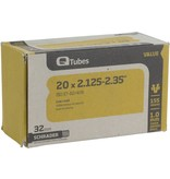 "Q-Tubes Q-Tubes Value Series Tube with Low Lead Schrader Valve: 20"" x 2.125-2.35"""