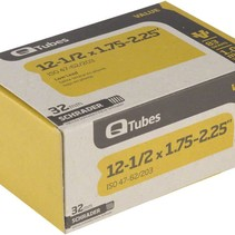 "Q-Tubes Value Series Tube with Low Lead Schrader Valve: 12-1/2"" x 1.75-2.125"""