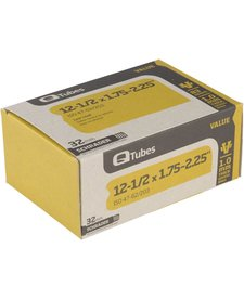 """Q-Tubes Value Series Tube with Low Lead Schrader Valve: 12-1/2"""" x 1.75-2.125"""""""