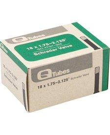 "Q-Tubes 18"" x 1.75-2.125"" Schrader Valve Tube 118g *Low Lead Valve* TU5712"
