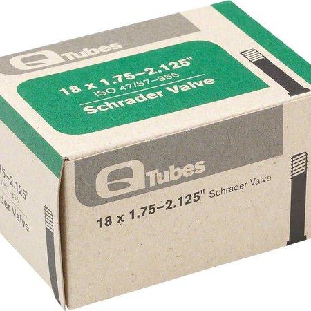 "Q-Tubes Q-Tubes 18"" x 1.75-2.125"" Schrader Valve Tube 118g *Low Lead Valve* TU5712"