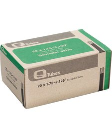 "Q-Tubes 20"" x 1.75-2.125"" Schrader Valve Tube 130g *Low Lead Valve* TU5720"
