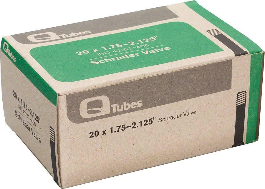 "Q-Tubes Q-Tubes 20"" x 1.75-2.125"" Schrader Valve Tube 130g *Low Lead Valve* TU5720"