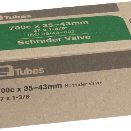 Q-Tubes Q-Tubes 700c x 35-43mm Schrader Valve Tube 144g