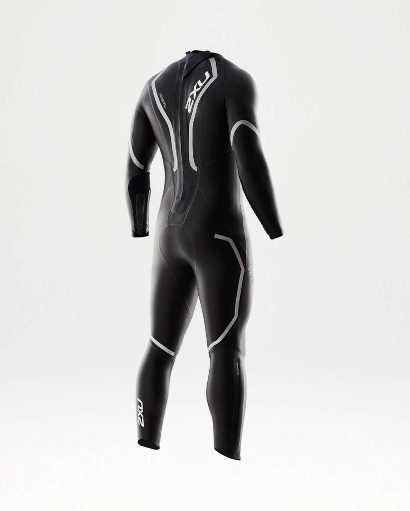 2XU North America 2XU Mens V:2 Velocity Wetsuit Black/Silver ST