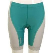 2XU Women's Long Distance Tri Shorts Bright Emerald/Gray XLarge