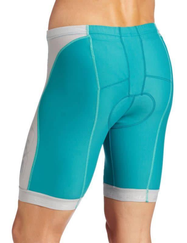 2XU North America 2XU Women's Long Distance Tri Shorts Bright Emerald/Gray XLarge