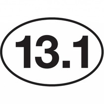 ChalkTalk Race Mileage Stickers