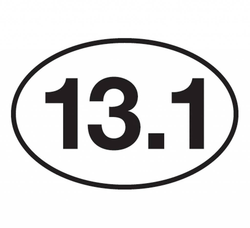 ChalkTalk Race Mileage Stickers