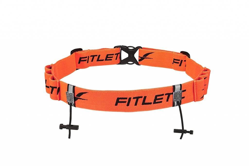 Fitletic Race II Number Belt with Gel Loops