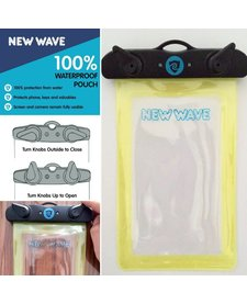 New Wave Waterproof Phone Pouch - Yellow