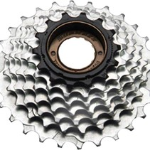 SunRace M2A 5-speed 14-28 Freewheel Black/Zinc28