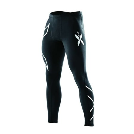 2XU Men's Compression Tights Black/Black LT MA1967b