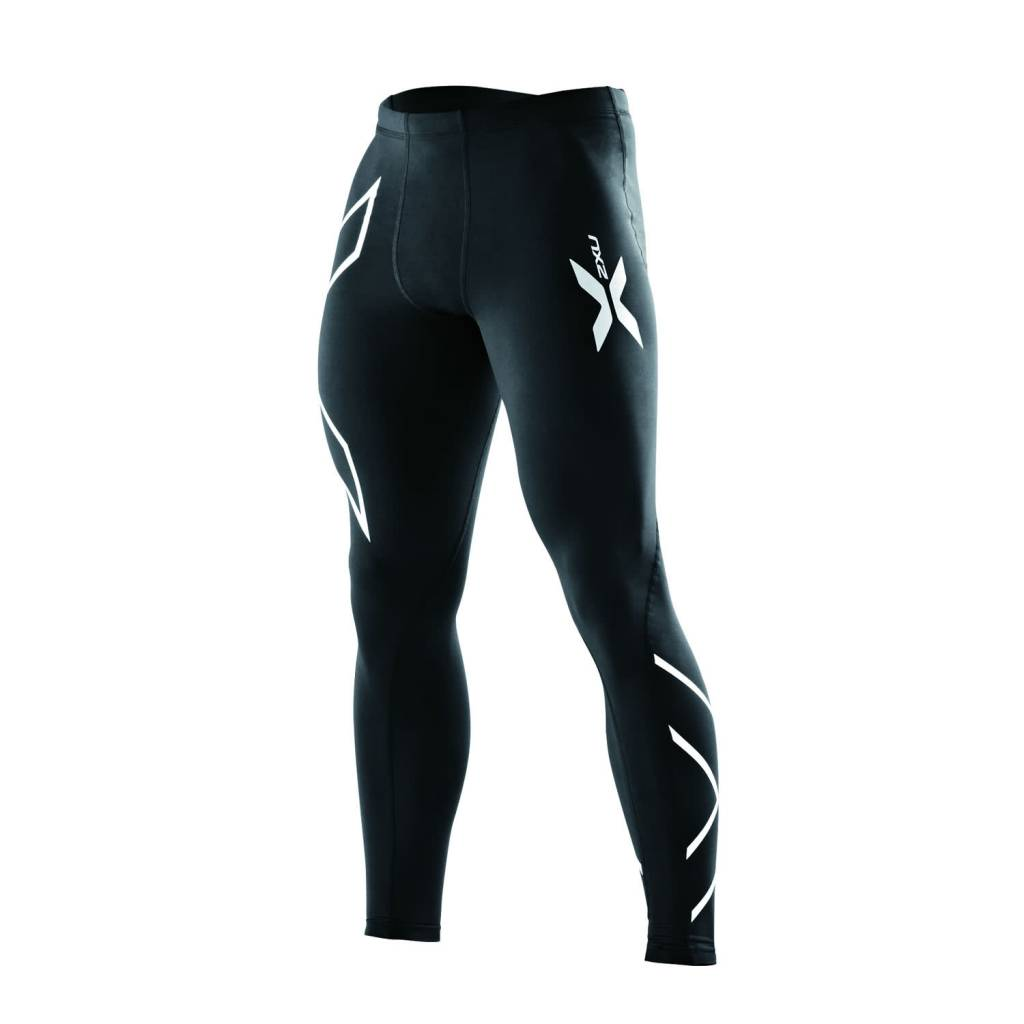 2XU North America Men's Recovery Compression Tights Black/Black L