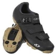 Giro Men's Privateer MTB Shoes - Black/Gum - 43